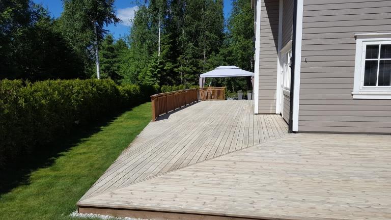 Terrasse ferdig slipt 1