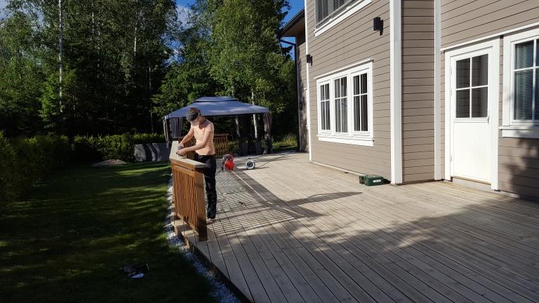 Terrasse ferdig slipt 2